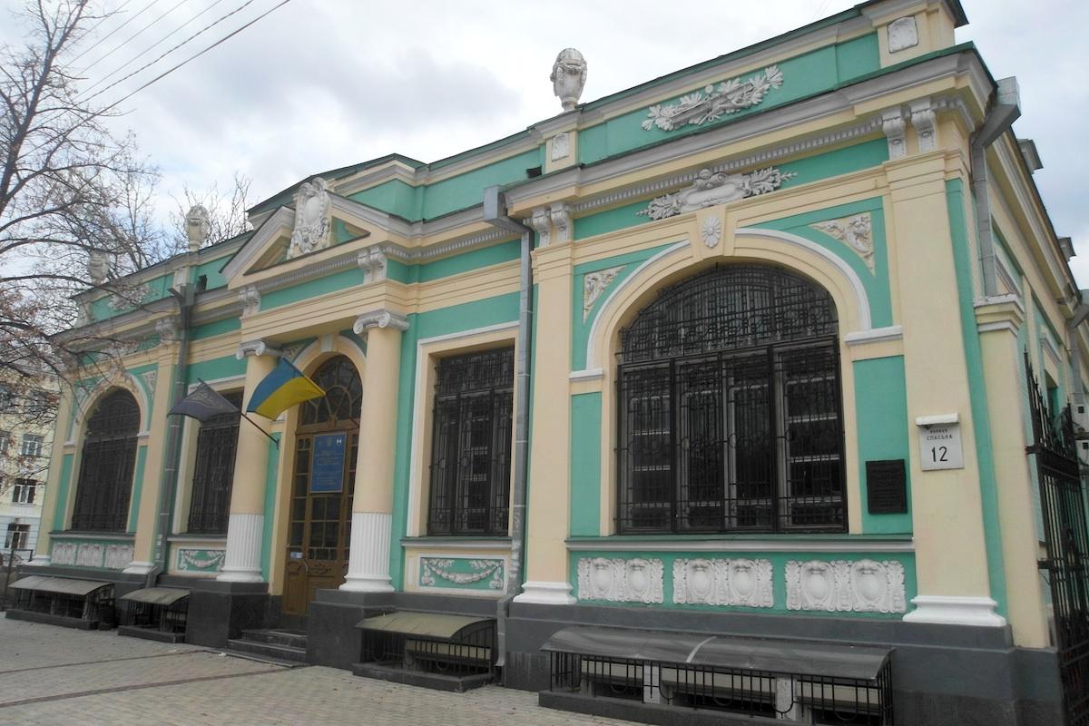 Зелений домик. Валериан Рыков