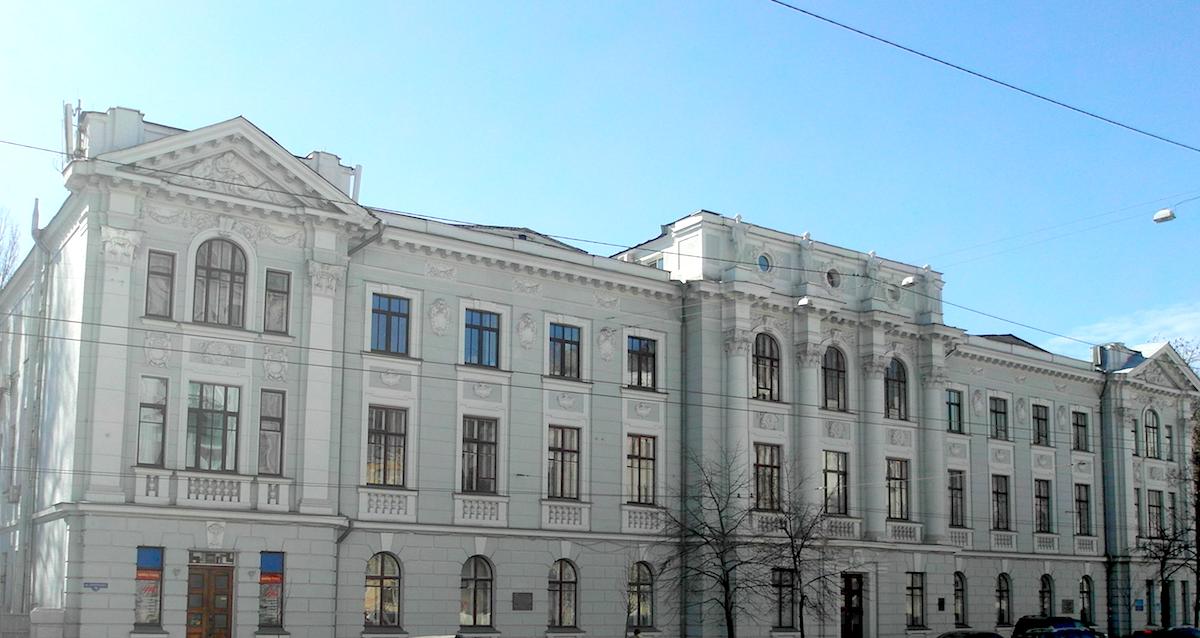 Валериан Рыков. Здание общины милосердия