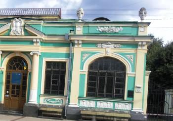 «Зеленый домик» в Киеве на Спасской, 12 (архитектор — В.Рыков)