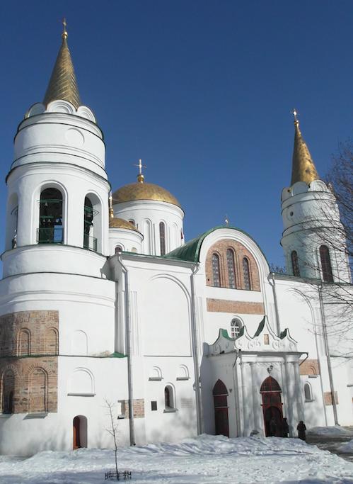 Спасо-Преображенский (Спасский) Собор в Чернигове