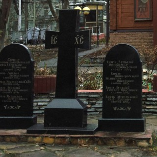 Князья Киевские. Захоронения