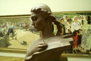 """Национальный художественный музей. На выставке """"Герои. Инвентаризация"""""""