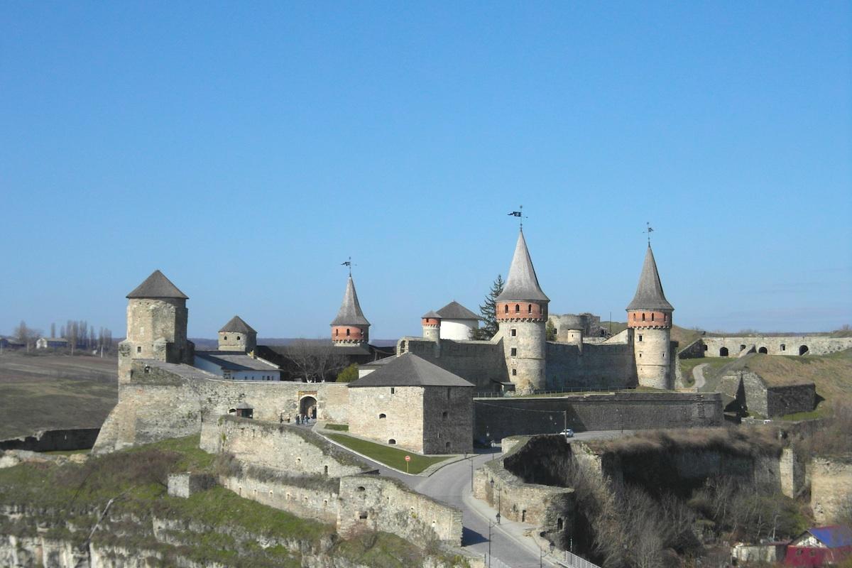Каменец-Подольский. Крепость.
