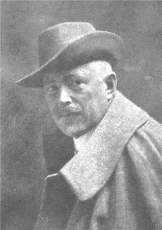"""Портрет Городецкого, которого иногда называют """"киевским Гауди"""""""