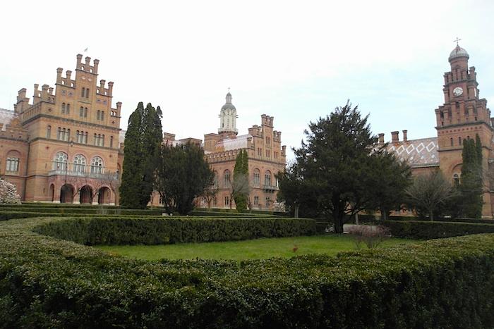 Резиденция мирополитов Буковины и Далмации - объект под охраной ЮНЕСКО в Украине
