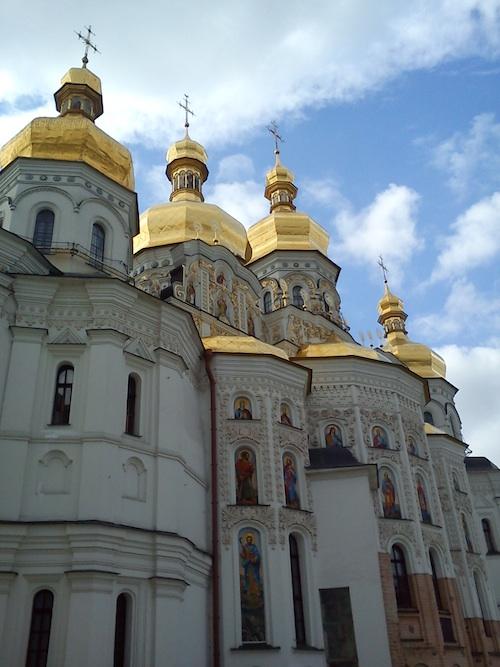 Главный - Успенский - собор в Лавре находится под охраной ЮНЕСКО в Украине