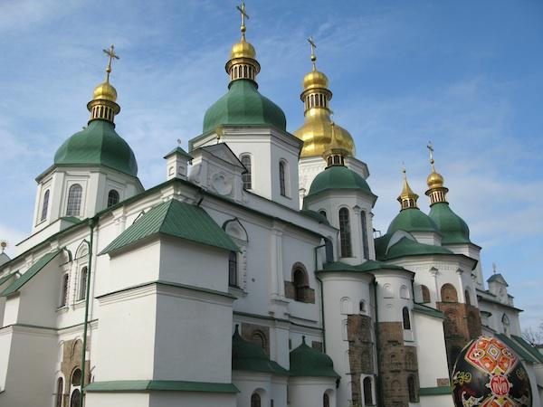 София Киевская (вид со стороны колокольни)