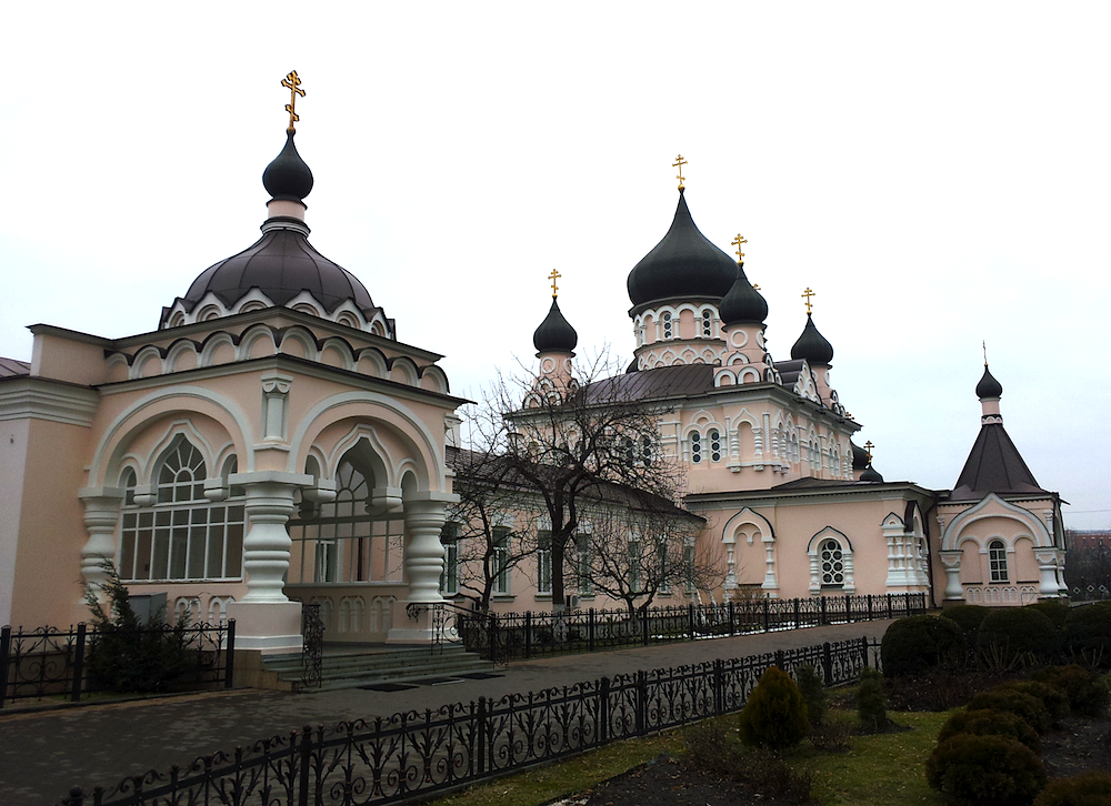 Свято-Покровский монастырь на Лукьяновке. Покровская церковь