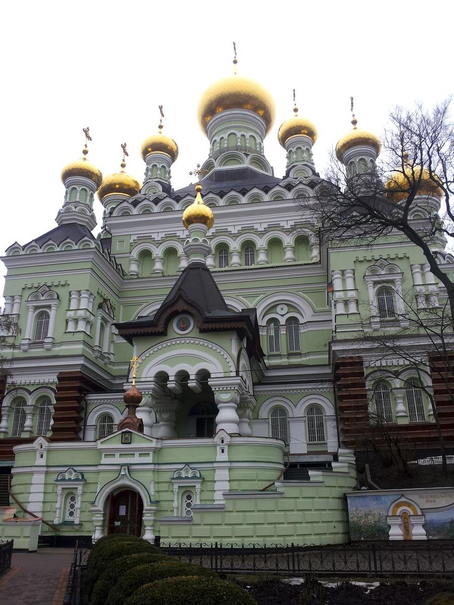 Свято-Покровский монастырь на Лукьяновке. Николаевский собор