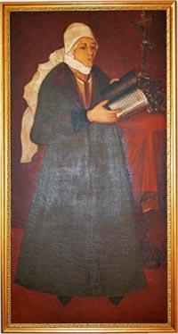 Портрет Олени з Музея гетьмана Виговського в Руді на місці колишнього маєтку Виговських