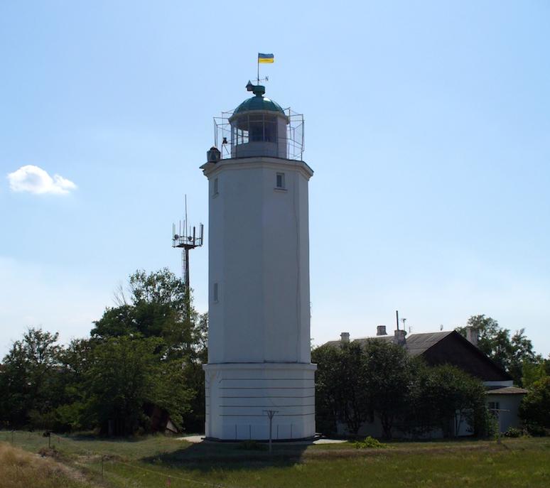 Нова башта Санжійського маяку, побудована 2010 року. Фото - з Вікіпедії.
